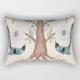 Tree Flora Rectangular Pillow
