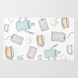 Tea Pattern Party Rug