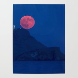 red moon Poster