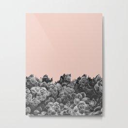 Plant collage XIV Metal Print