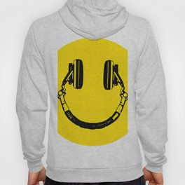 Smiley Headphone - acid house Hoody
