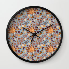 I love fall - Collection Wall Clock