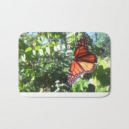 Monarch Butterfly  - Wild Veda Bath Mat