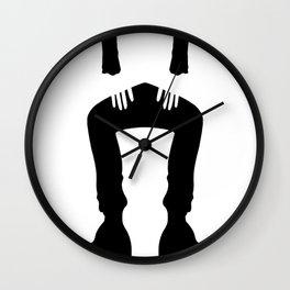 lady jar Wall Clock