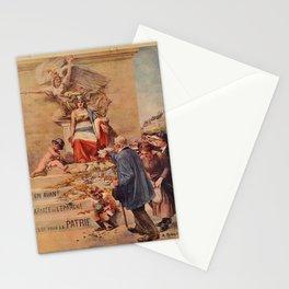 plakater 2e emprunt de la defense nationale Stationery Cards