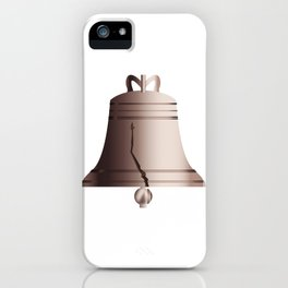 Liberty Bell With Crack iPhone Case