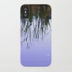 Reflections in the Water iPhone X Slim Case