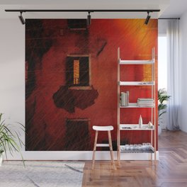 Boy In The Attic Wall Mural