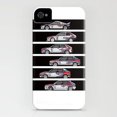 Lancia Martini Rally Cars Slim Case iPhone (4, 4s)