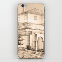 Old house | sketch iPhone Skin