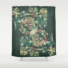 Manufactured forest the future is here Shower Curtain