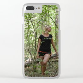 sotto bosco Clear iPhone Case
