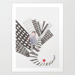 Follow Me Art Print