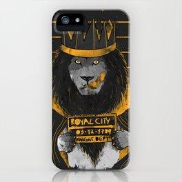 Royal Mugshot iPhone Case