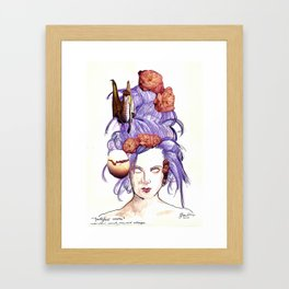 Youthful Waste Framed Art Print