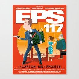 EPS 117 - Le carton Canvas Print