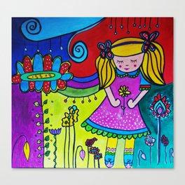 Shilou Dreaming Canvas Print