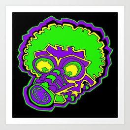 Other Worlds: Gas Masked Art Print