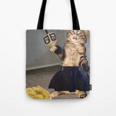 Jew Cat Tote Bag