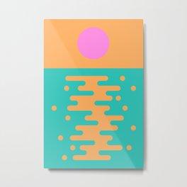 Paradise Sunrise Metal Print