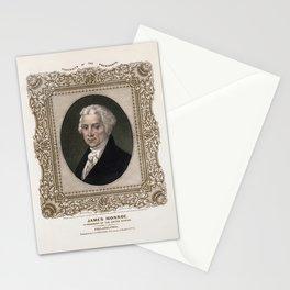 President James Monroe - Vintage Color Portrait Stationery Cards
