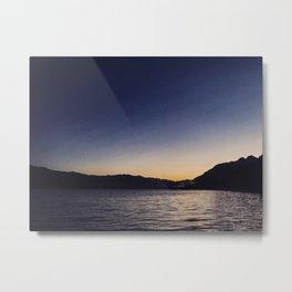 Quinault Sunrise Metal Print