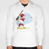 baseball Hoodies featuring Baseball! by Dues Creatius