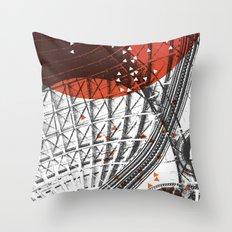 The Corn Exchange Throw Pillow