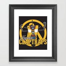 Hyperion Claptraps Framed Art Print