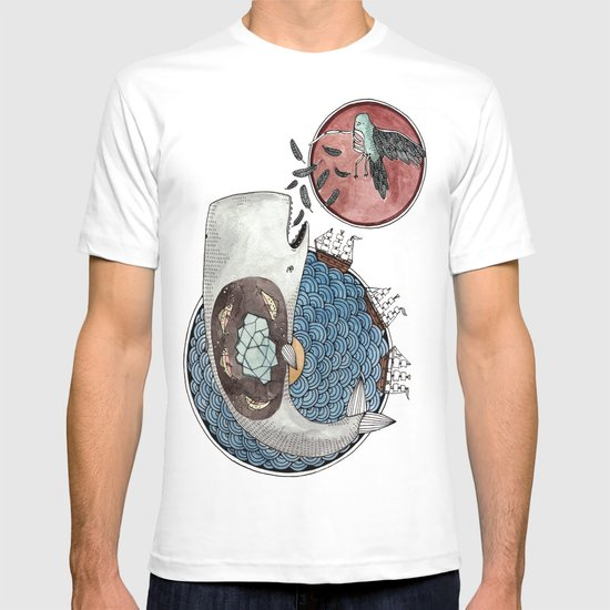 New Version Whale T-shirt