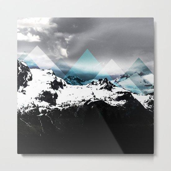 Mountains IV Metal Print