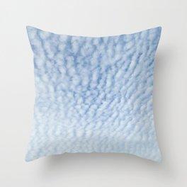 Cirrocumulus Clouds 3 Throw Pillow