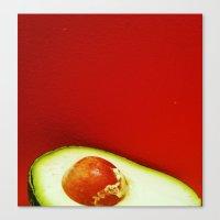 avocado Canvas Prints featuring Avocado by AEPhotos