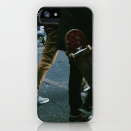 Skaters in Waterloo, London iPhone Case