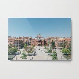 Barcellona, Spain, San pau Metal Print
