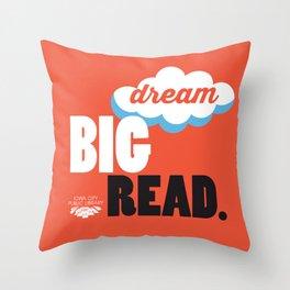Dream Big - Iowa City Public Library Throw Pillow