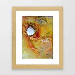 fell to earth with nothing but scrapes and scratches Framed Art Print