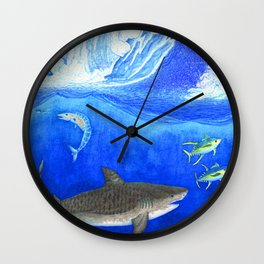 Devil Down Below Wall Clock