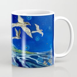 Long-Tailed Cuckoo & The Explorers Coffee Mug