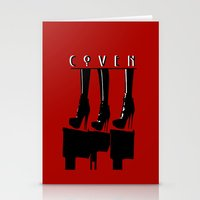 coven Stationery Cards featuring Coven by Ruler Of Nothing Important
