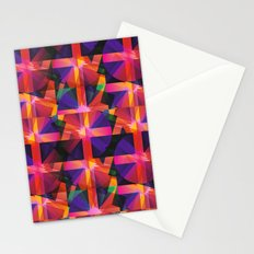 Abstract blocks pattern 2 Stationery Cards