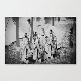 Fiddles Canvas Print