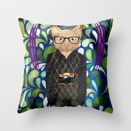 Enrico Throw Pillow