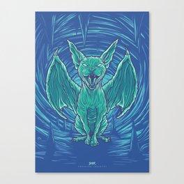 Lovely Dark Creatures series - Hiems Canvas Print