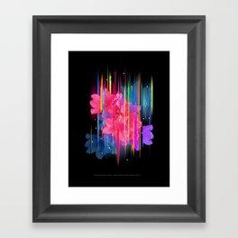 Night Blooming Bouquet Framed Art Print