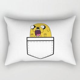 Jake in pocket Rectangular Pillow