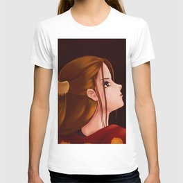 Looking Back - Original Painting T-shirt