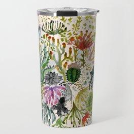 Succulents Mandala Travel Mug