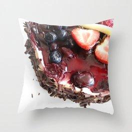 LET THEM EAT Throw Pillow