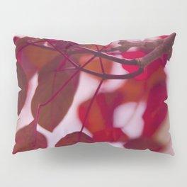 Red Leaves Pillow Sham
